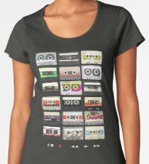 Cassette Tapes (mixtape Love) Premium Scoop T-Shirt