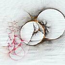 Simple Lines And Circles by Deborah  Benoit