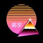 80s Chrome & Rising Sun - Peak Aesthetics by tallestrose