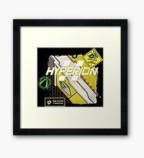 Hyperion Explosives Expert Framed Print