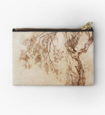 Hedge Witch, the Lady in the Tree Studio Pouch