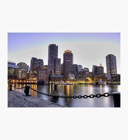 Boston - White Nigths Photographic Print