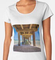 Frankston Pier Premium Scoop T-Shirt