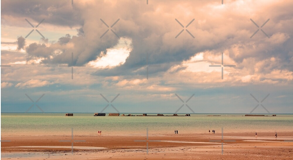 Gold Beach, Normandy - 69 Years after D-Day  by Buckwhite