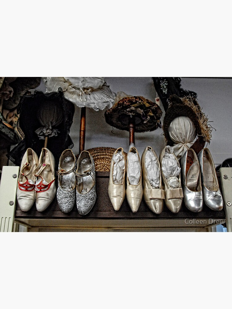 Vintage Shoes and Bonnets by colgdrew