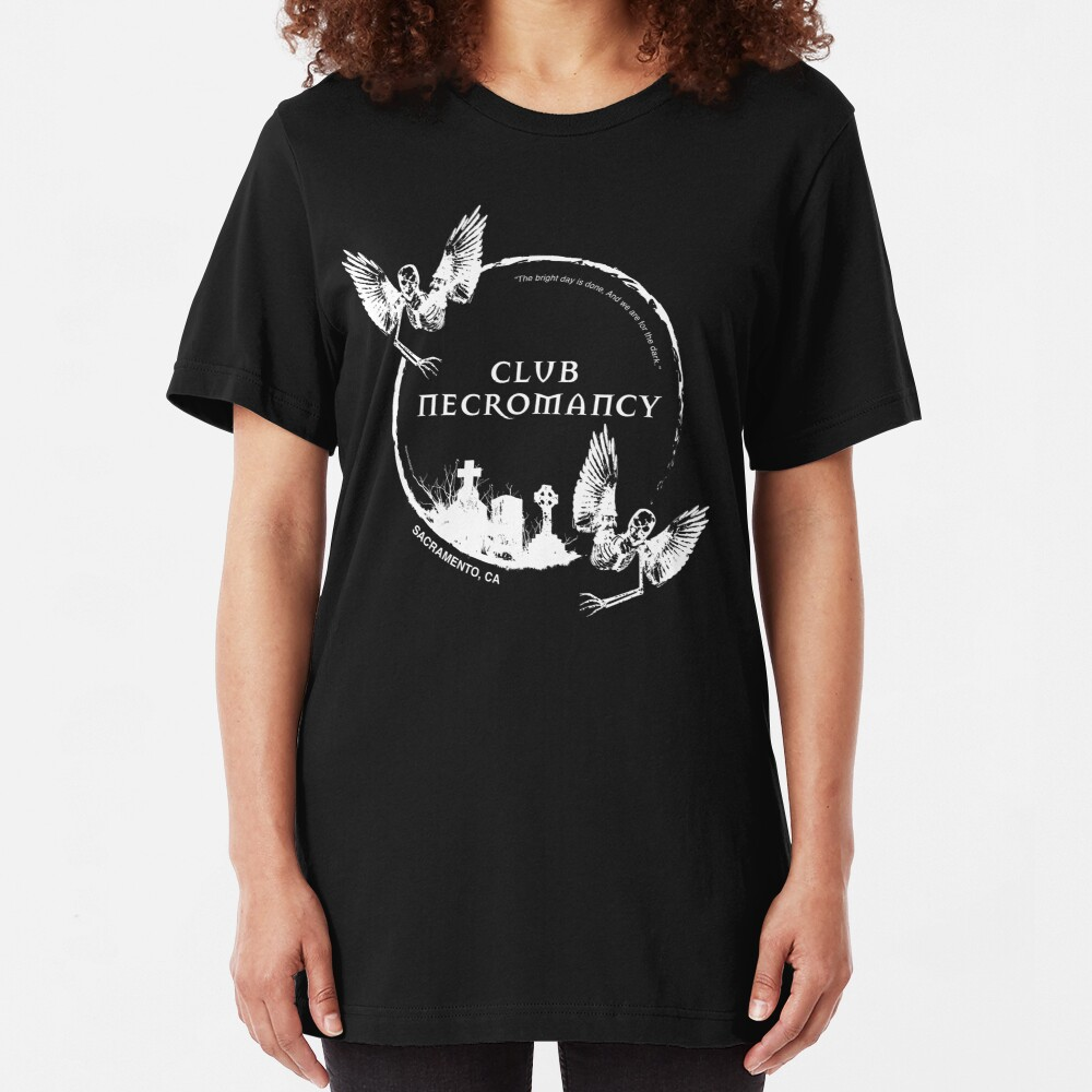 Club necromancy Merchandise Slim Fit T-Shirt