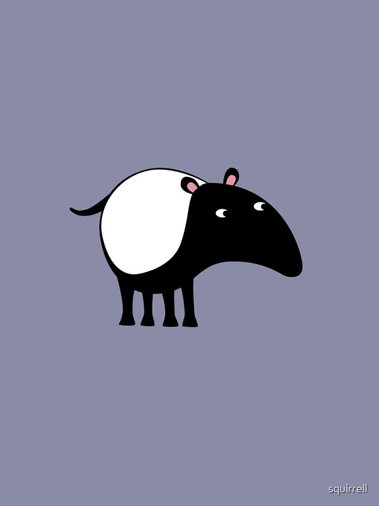 Malayan Tapir by squirrell