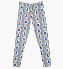 Unveiling Reality - Blue Buddha Leggings
