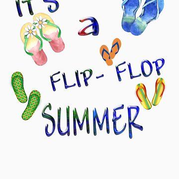 Flip Flop Summer by Misawalk
