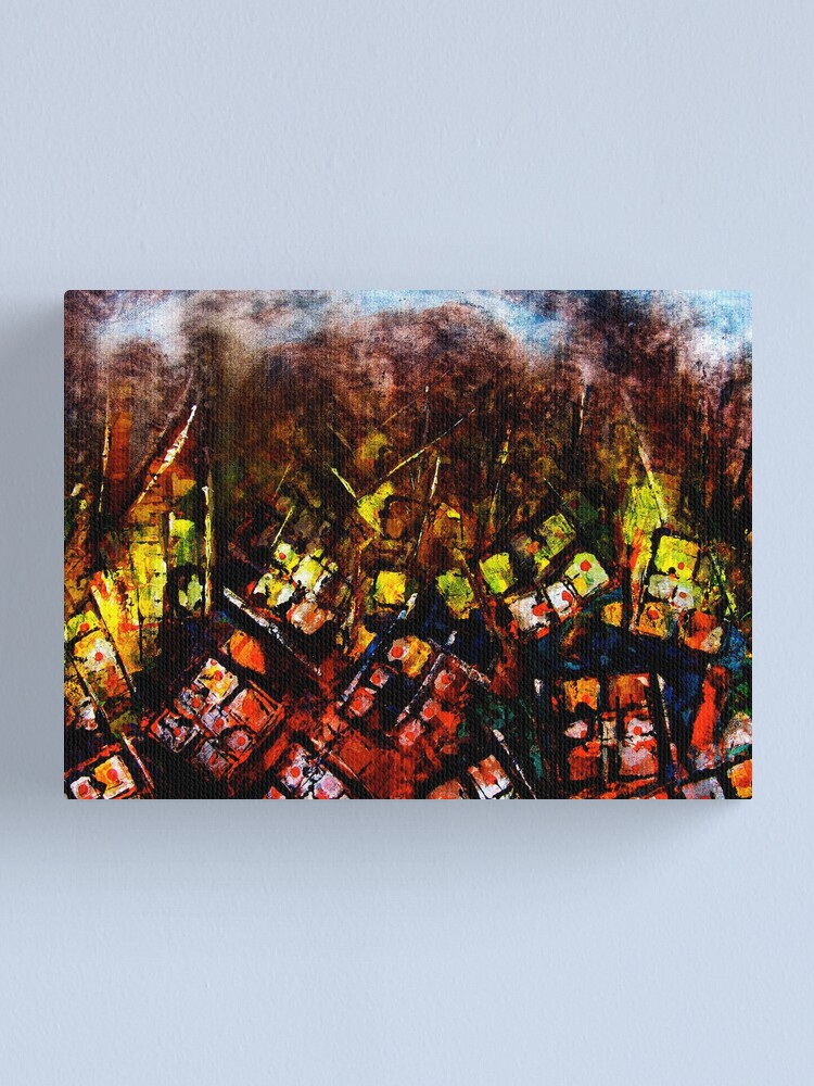 Alternate view of Conflict Canvas Print