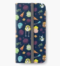 Final Space Character Pattern iPhone Wallet/Case/Skin