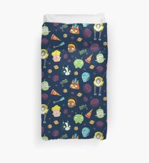 Final Space Character Pattern Duvet Cover