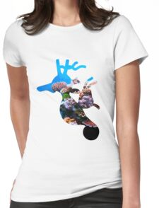 Kingdra used dive Womens Fitted T-Shirt