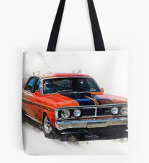 Red XY Ford Falcon GT Tote Bag