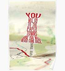 Go to the Paper Towns (5 of 7)  Poster