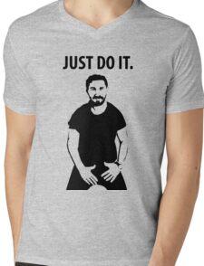 Shia LaBeouf - Just Do It Mens V-Neck T-Shirt