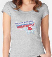 Winterfest 86 Women's Fitted Scoop T-Shirt