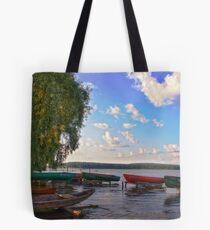 boat station Tote Bag