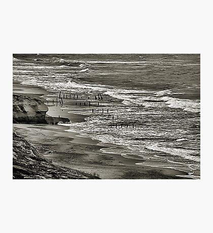 Beach at Fort Funston Photographic Print