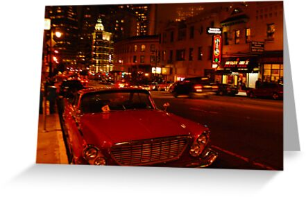 a nights stumble along Columbus... by Bob Moore