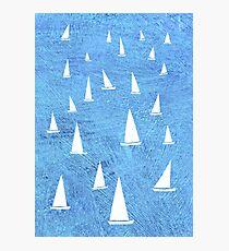 Sailing Photographic Print