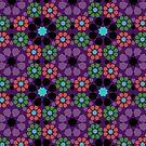Alhambra Geometrics FIVE by BigFatArts