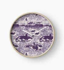 Da Shore Side - Purple Clock