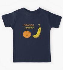 Orange is the new Banana Kids Tee