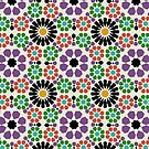 Alhambra Geometrics ELEVEN by BigFatArts