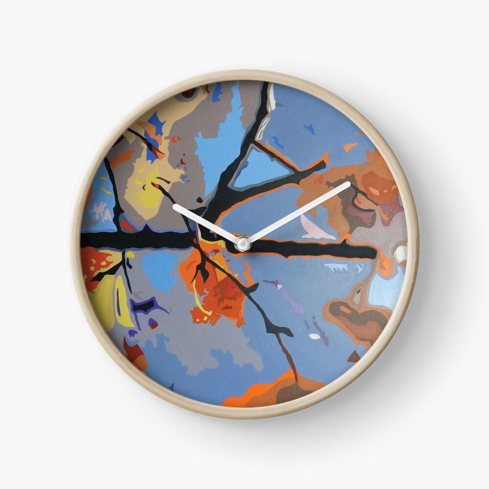 ' Broken Branch ' Clock
