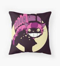 Cheshire no totoro - original Throw Pillow