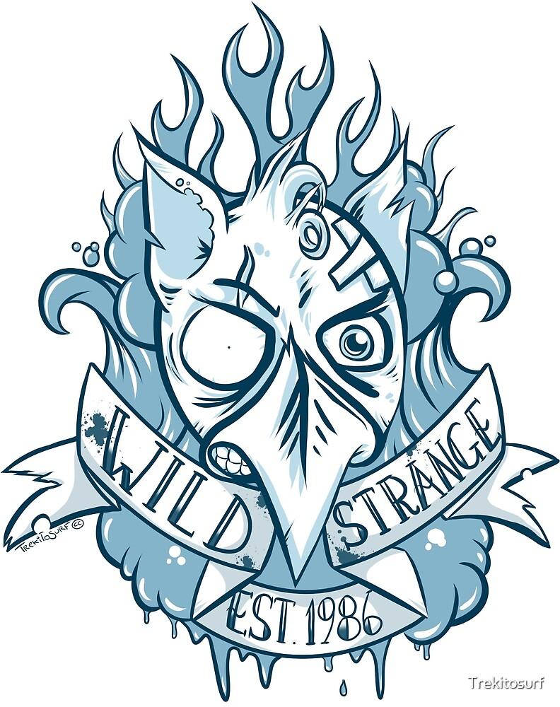 « Wild Strange EST.1986 » par Trekitosurf