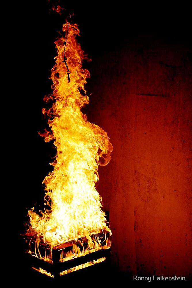 Dragon In Flames by Ronny Falkenstein