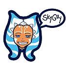"""""""Skyguy"""" by Duna Longhorn"""