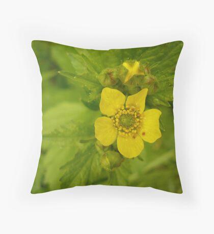 Tahoe Wildflower Throw Pillow