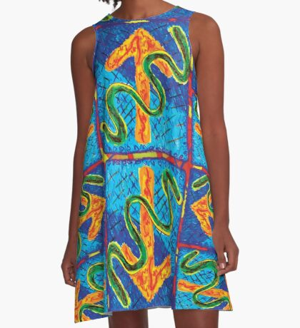 Up Down Sideways A-Line Dress