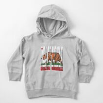 California Bear Toddler Pullover Hoodie