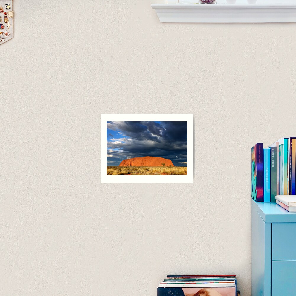 Ayers Rock (Uluru) Sunset, Australia Art Print