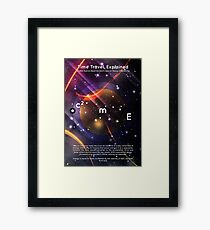 Time Travel, Explained Framed Print