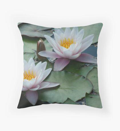 Waterlilies at Fredrick Meijer Gardens Throw Pillow