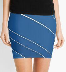 Blue Wires Overhead  Mini Skirt