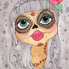 Day of the Dead girl v.2 by Samantha Gilkes