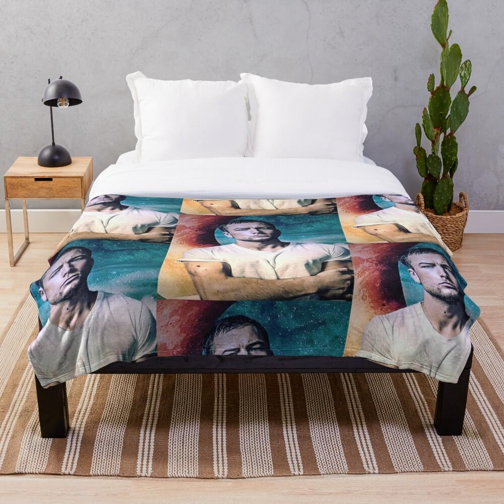 Taron Egerton Throw Blanket