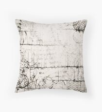 Scattered Rhythm Throw Pillow