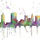 Columbus, Ohio Skyline von Marlene Watson