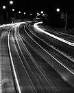 Freeway Lights by Craig Hender