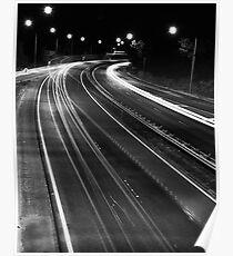 Freeway Lights Poster