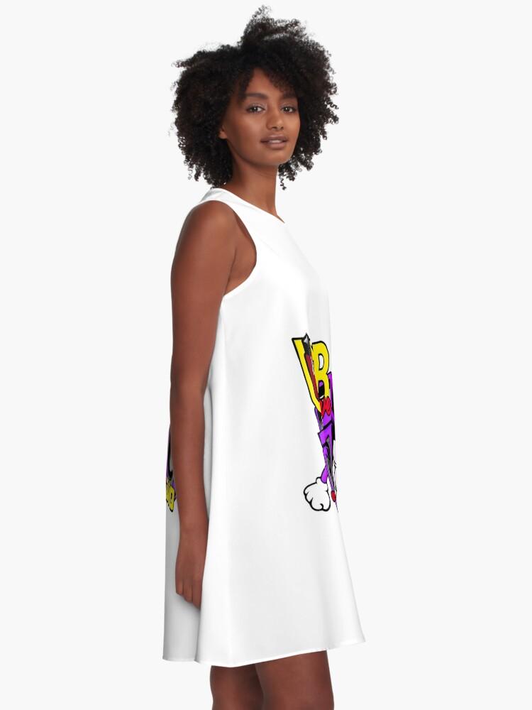 Alternate view of USB sLAve Radio A-Line Dress