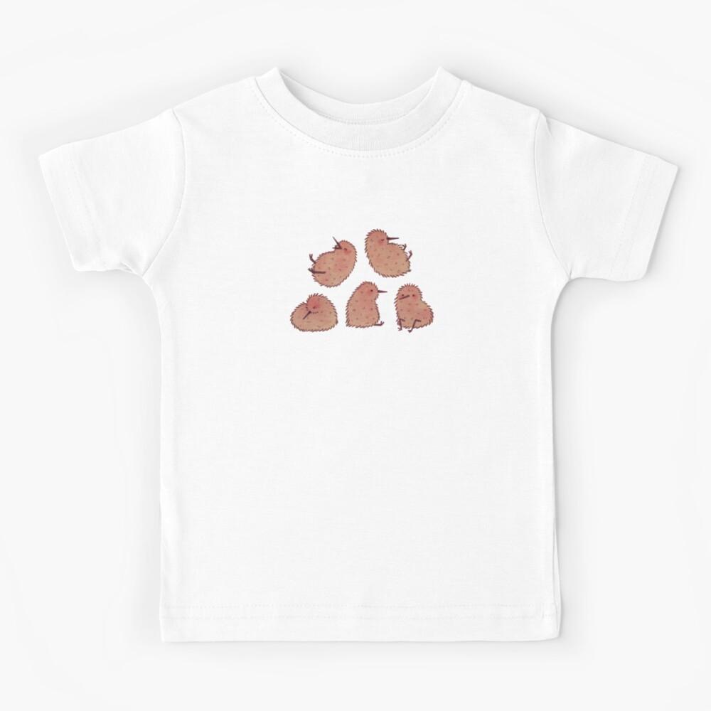 Cute Kiwi Birds  Kids T-Shirt