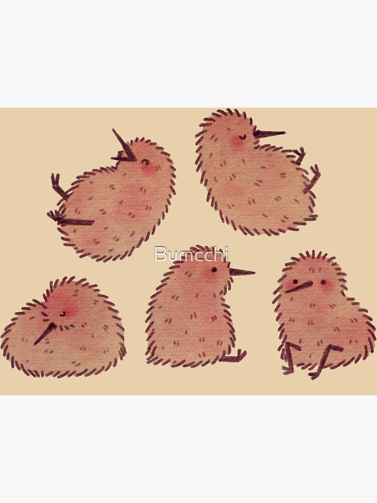 Cute Kiwi Birds  by Bumcchi